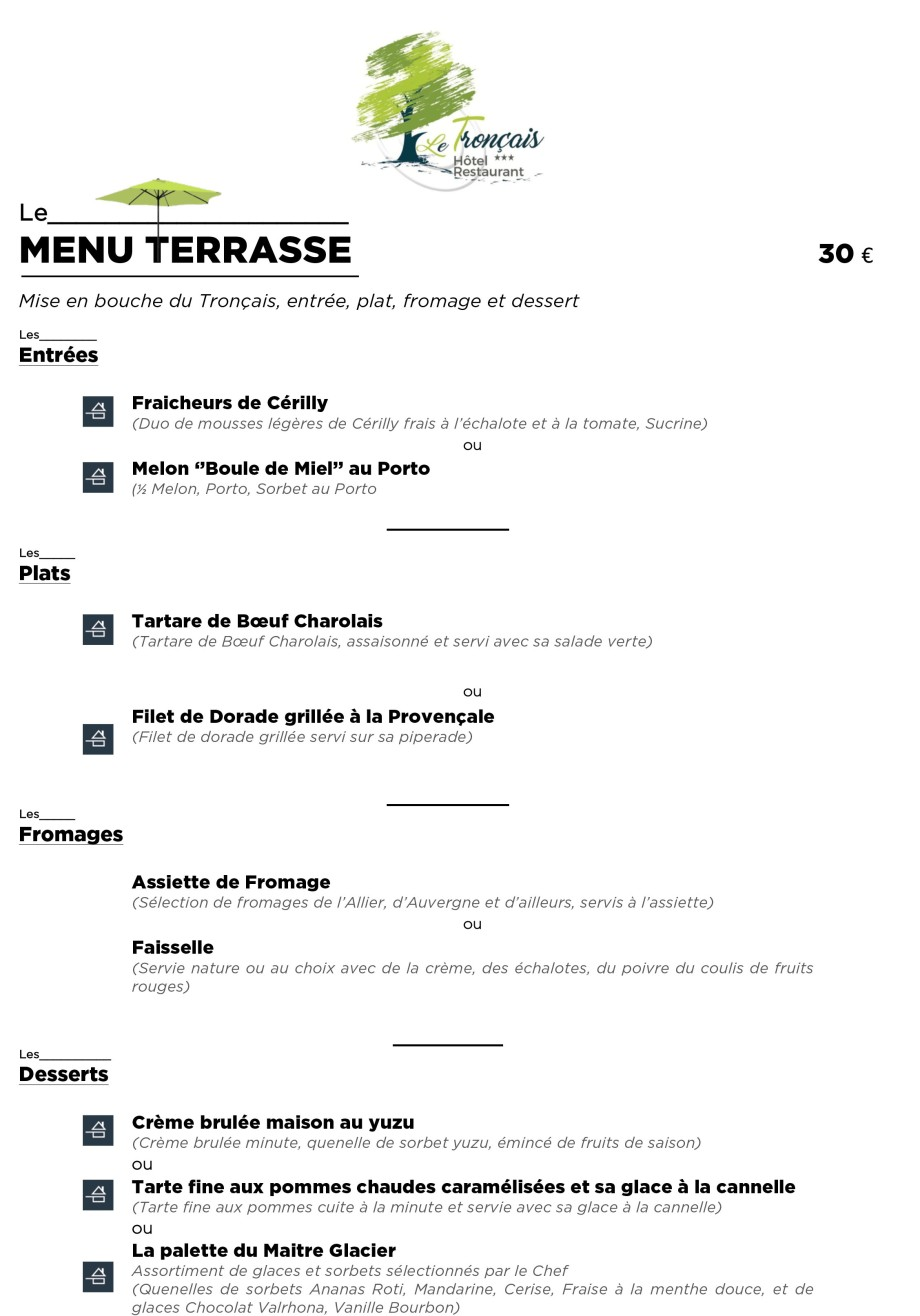 201706 - LE TRONCAIS - Menus Terrasse-1
